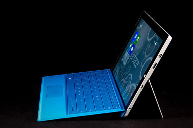 microsoft launches the surface  at debuts trade in program for older models right side