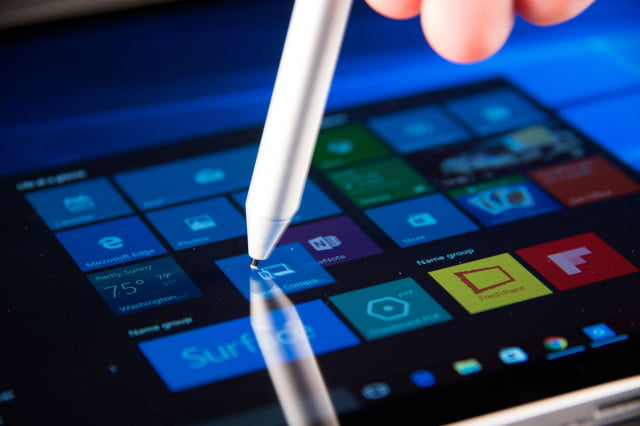 intel developer forum  universal stylus initative microsoft surface book angle