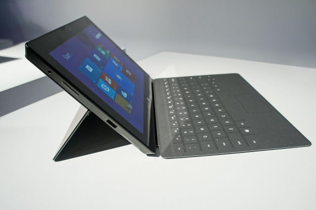 microsoft surface pro 2 review left side