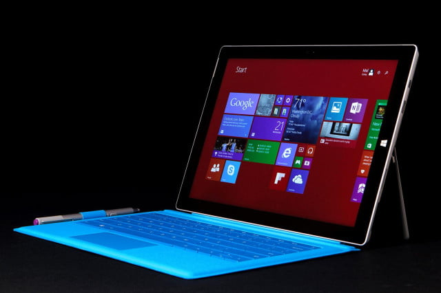 Microsoft SURFACE Pro 3 front angle