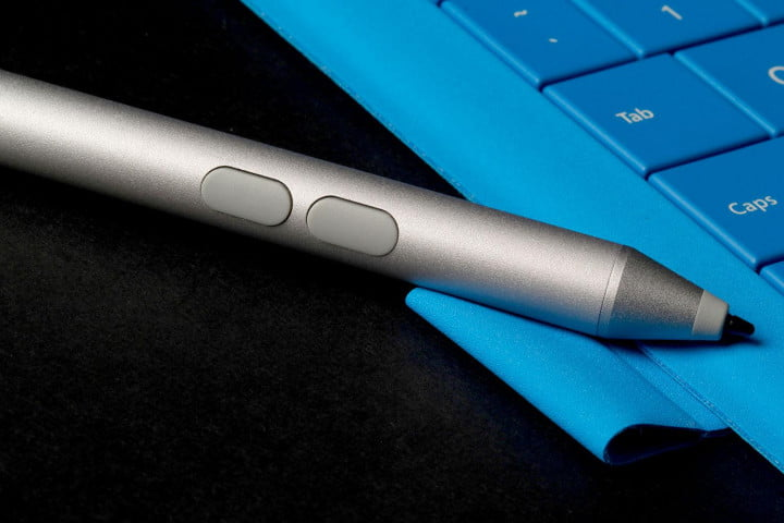 microsoft surface pro  review stylus buttons