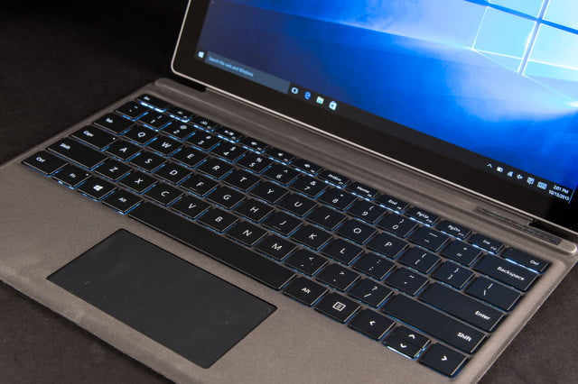 microsoft update keyboard surface pro  top angle