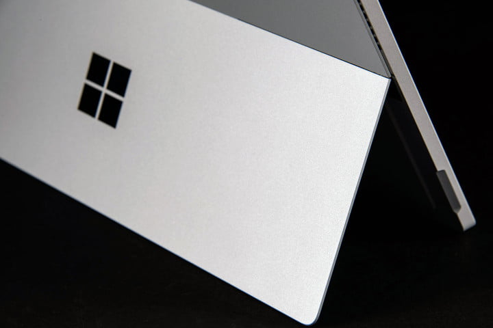 microsoft surface pro  review kickstand side
