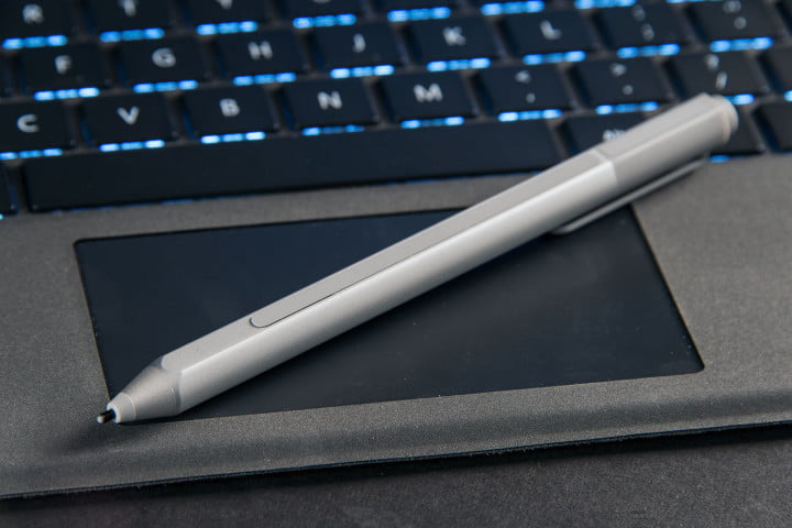 microsoft surface pro  review pen trackpad