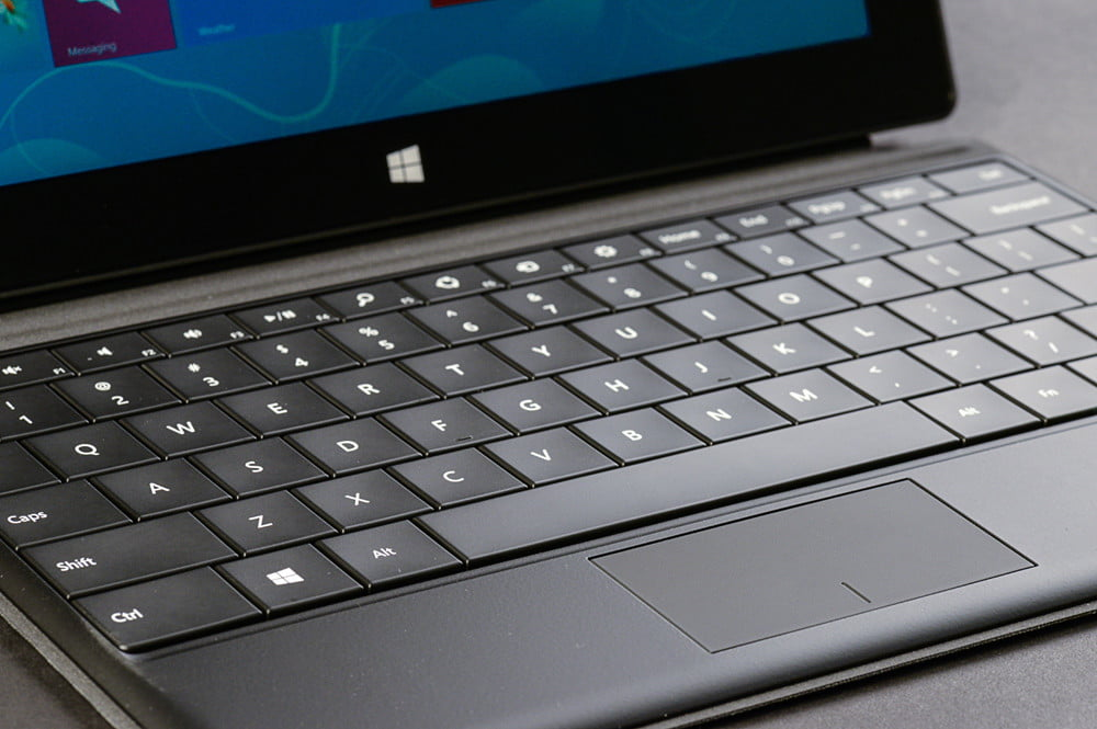 microsoft surface pro tablet review keybaord