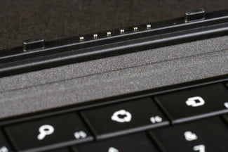 microsoft surface pro tablet review keyboard contact