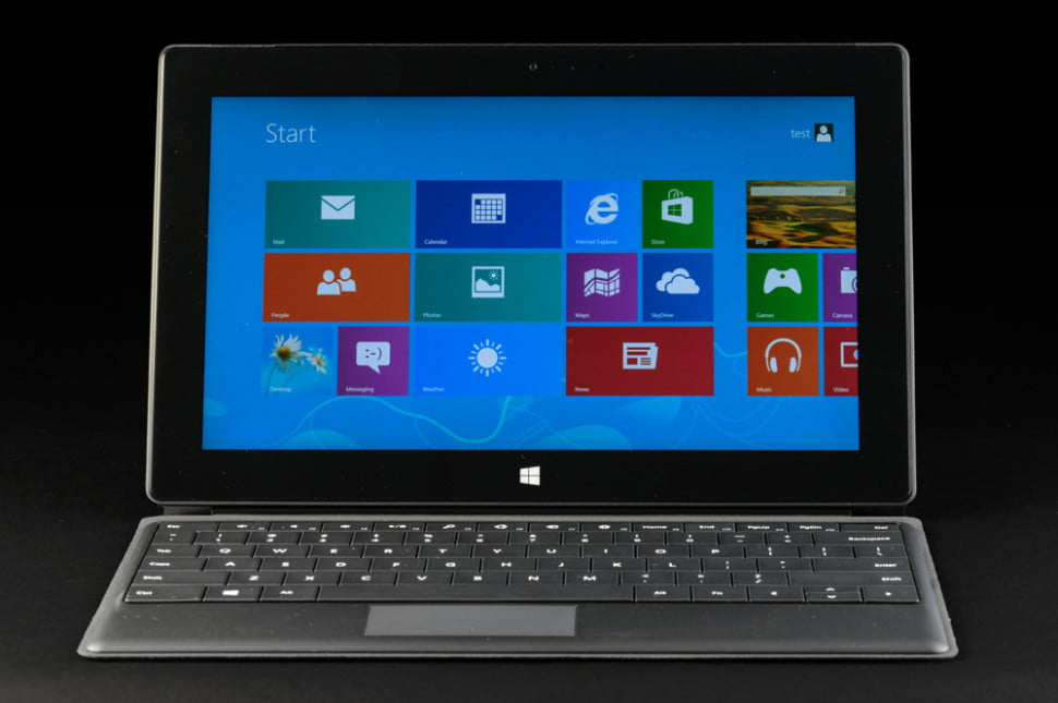 microsoft surface pro tablet review screen keyboard
