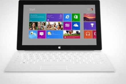 Microsoft Surface Tablet front view
