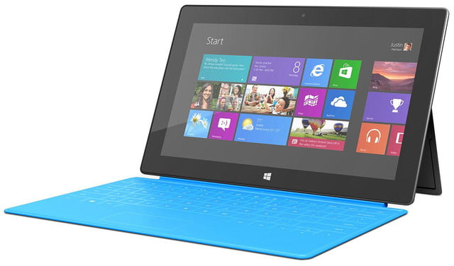 microsoft surface sales with windows rt