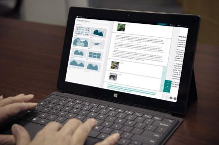 A Microsoft Sway preview is