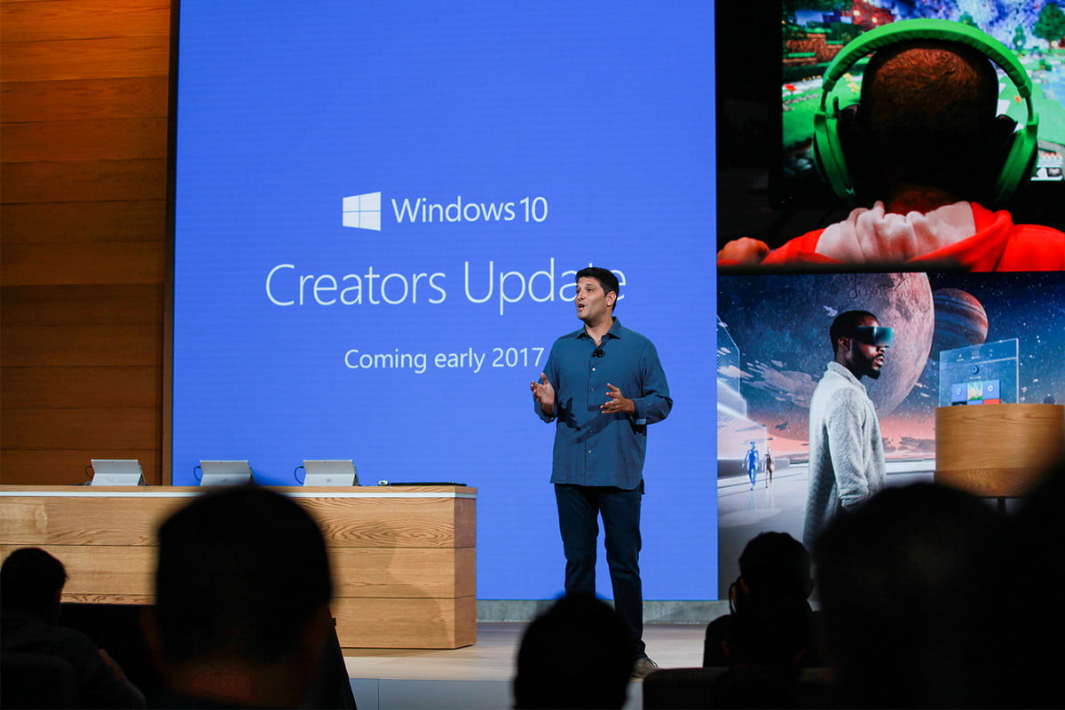 microsoft outpaces apple windows  creators update