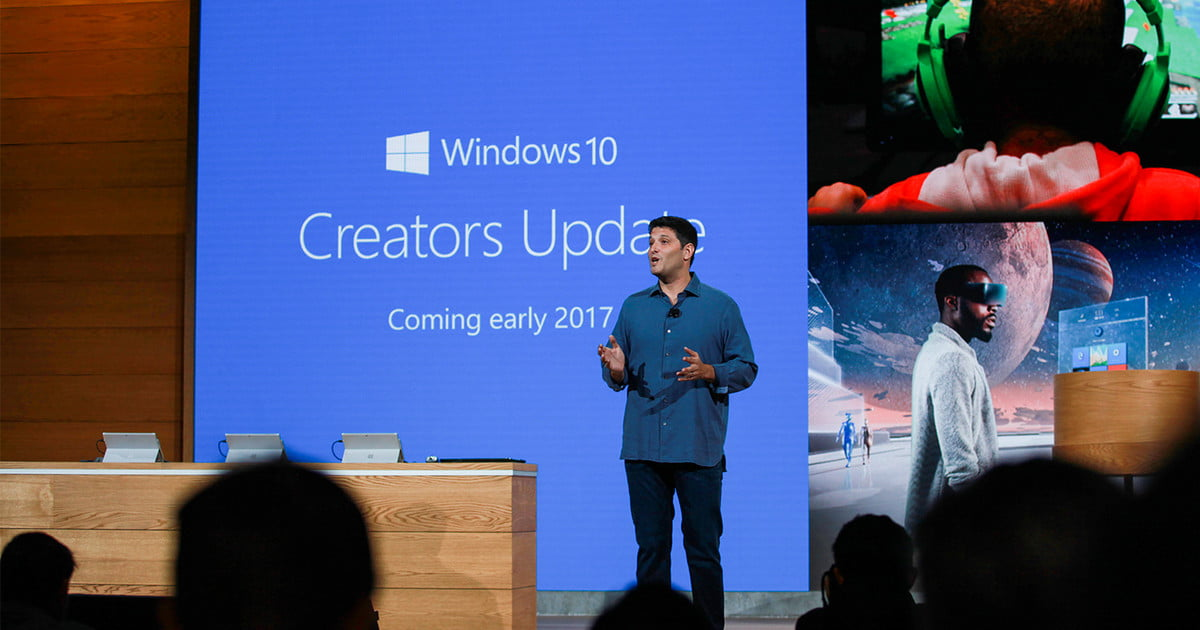 Microsoft Demos Game Mode and More in Next Windows 10 Insider Build