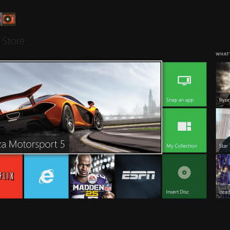 microsoft xbox one review interface home