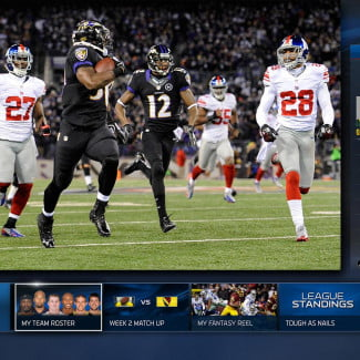 microsoft xbox one review interface nfl fantasy