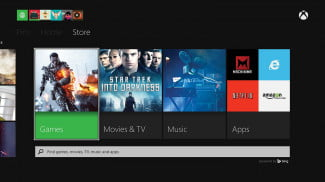 microsoft xbox one review interface store games
