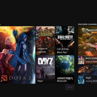 microsoft xbox one review interface twitch