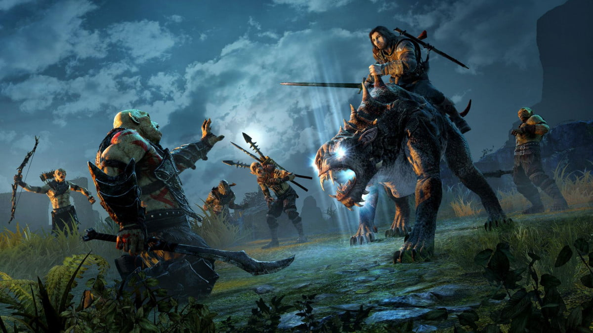 middle earth shadow mordor makes mortal enemies one week earlier of pre e