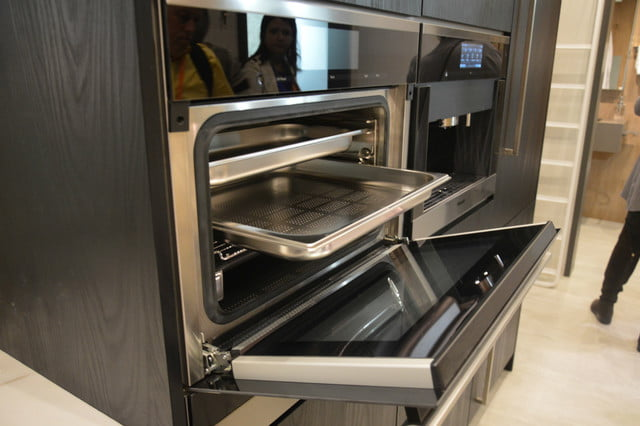 appliance trends kbis  miele inch steam combi oven