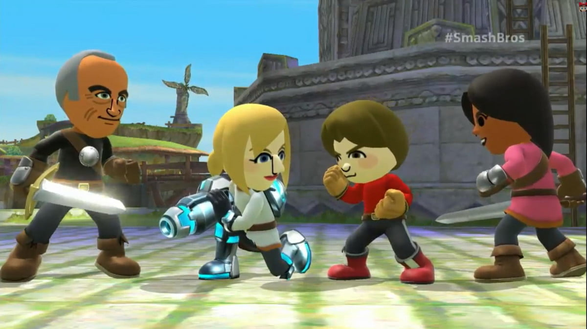 mii fighters and amiibos coming to smash bros fighter
