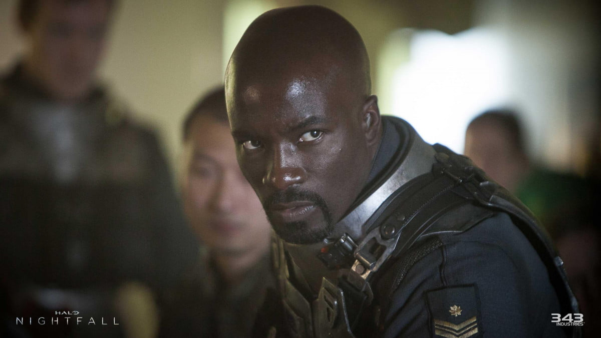 halos mike colter confirmed star marvels luke cage series netflix halo nightfall