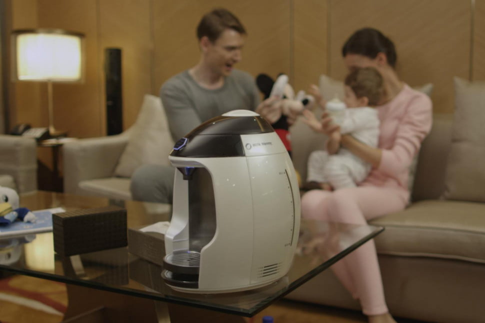 Milk Nanny Is a Smart Baby Bottle Appliance | Digital Trends