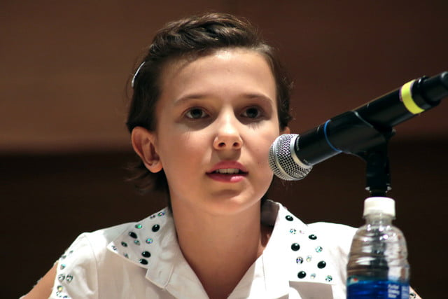 star wars stranger things millie bobby brown phoenix comiccon