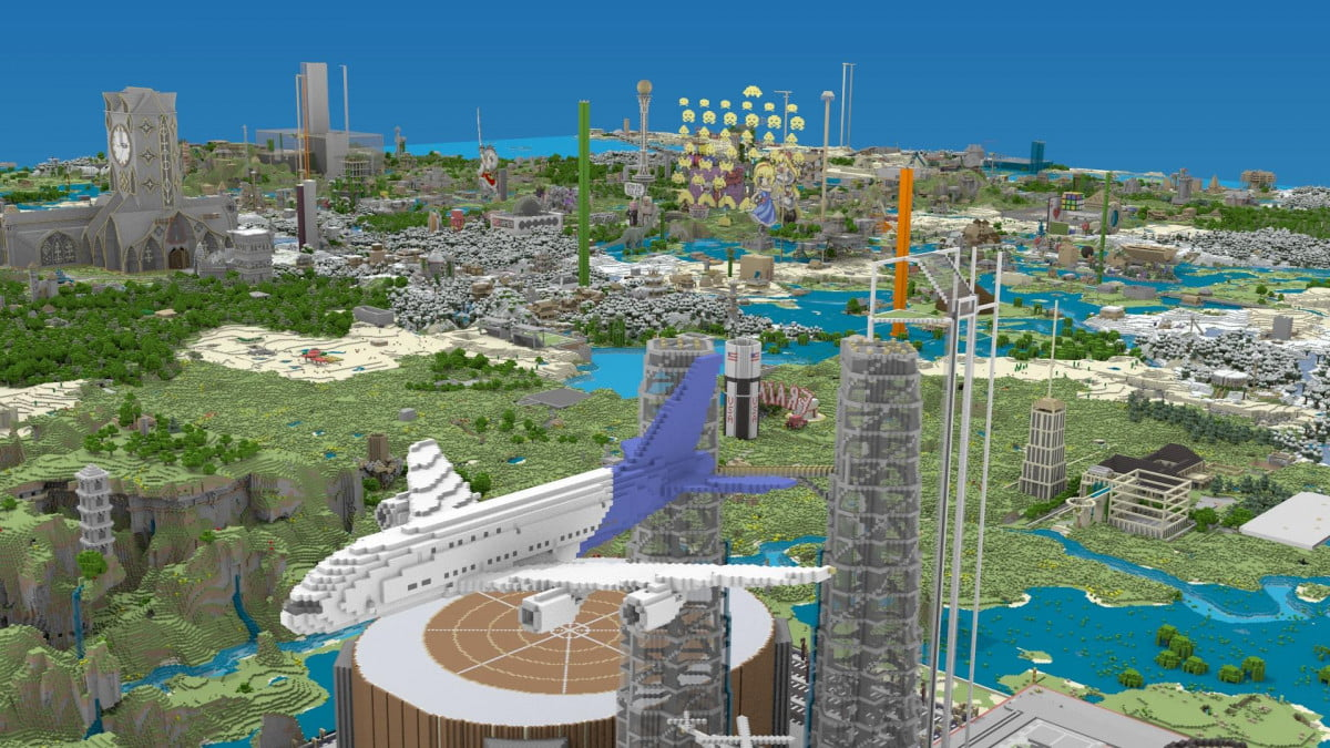 minecraft realms available worldwide