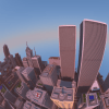 A student spent two years building this breathtaking Minecraft city using an Xbox 360