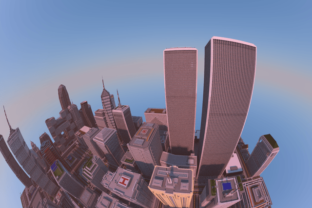 student spent two years build breathtaking minecraft city using xbox  titan