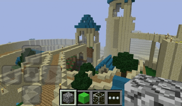 minecraft screenshot kindle fire game app android tablet