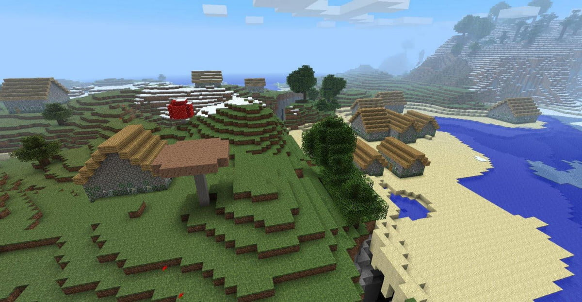 minecraft update lets customize world first time v