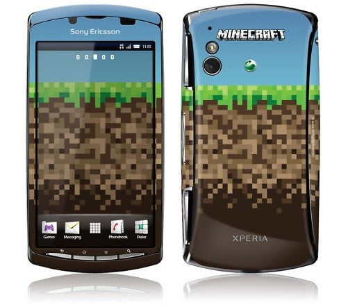 special edition minecraft xperia play