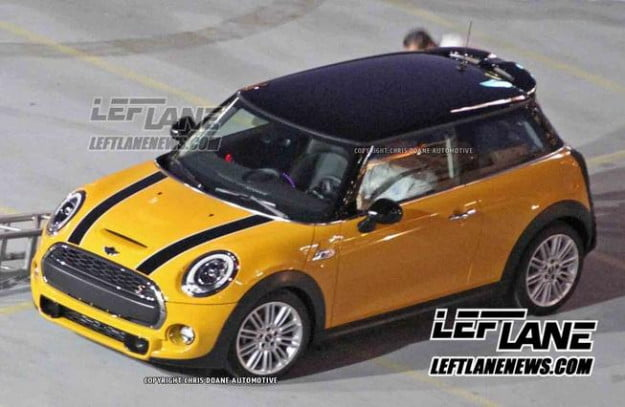 Mini 2014 spy shot
