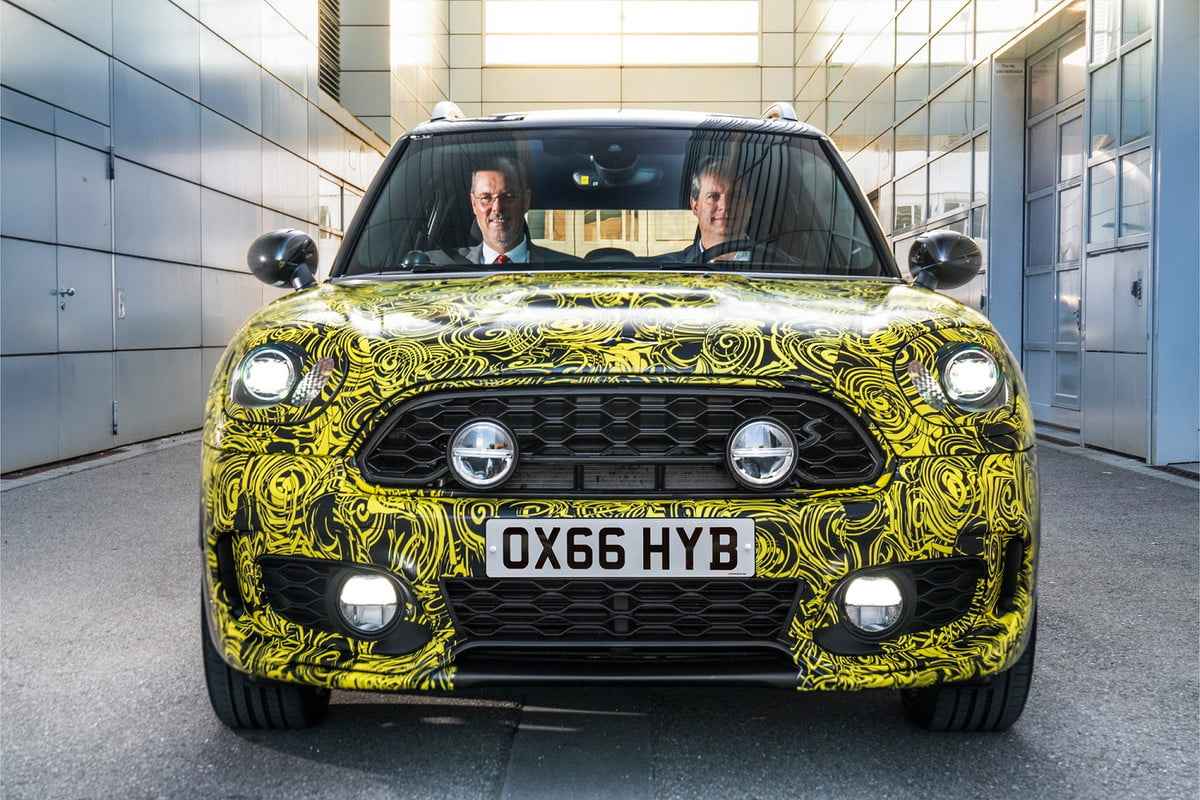 mini e countryman news specs photos performance teaser