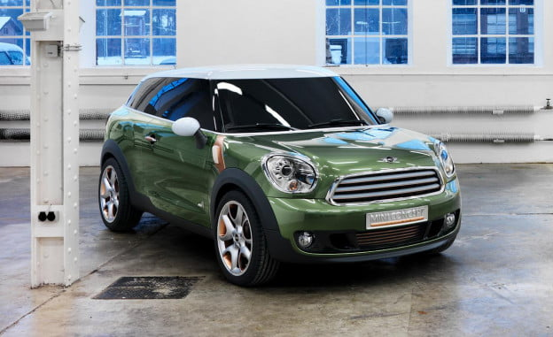Mini Paceman concept in a warehouse