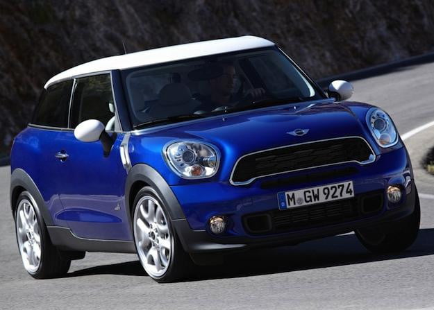 Mini Paceman Front