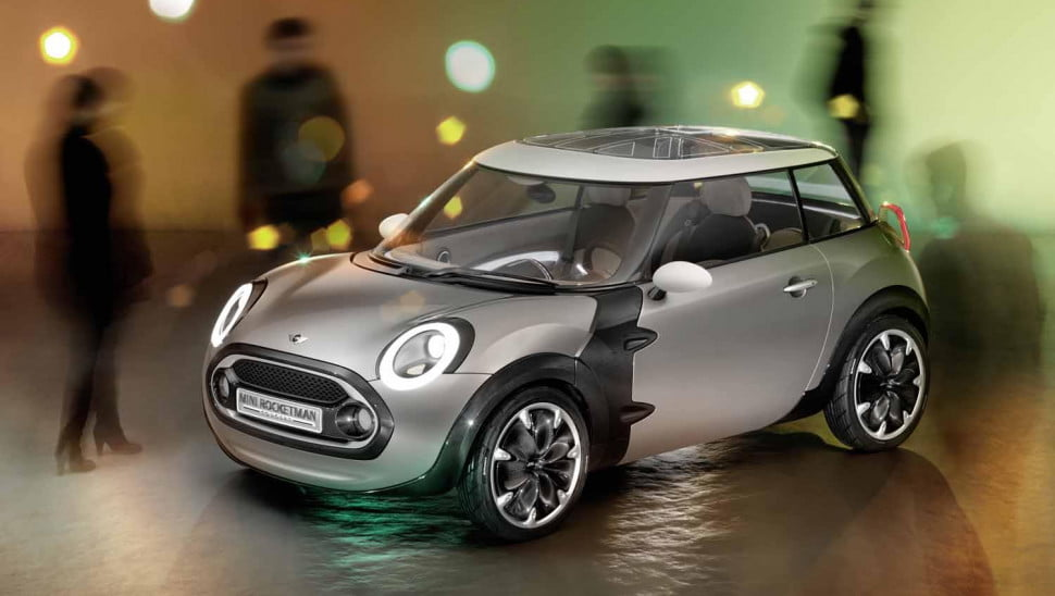 bmw toyota may collaborate on entry level mini rocketman