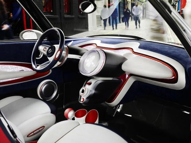 Mini Rocketman Interior