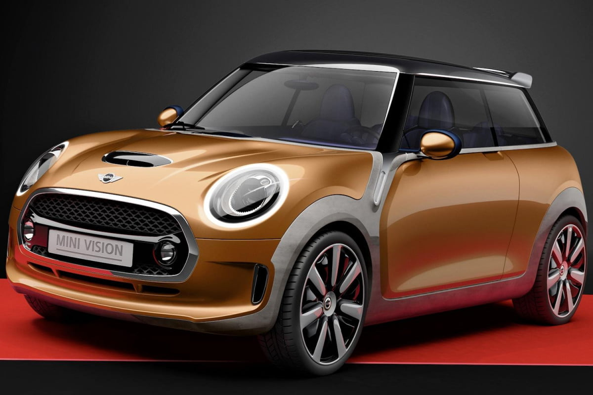 the  mini cooper turns up fuel efficiency and motoring enjoyment vision