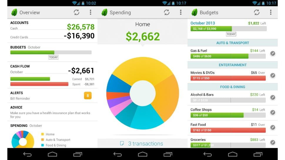 android app keep track data usage