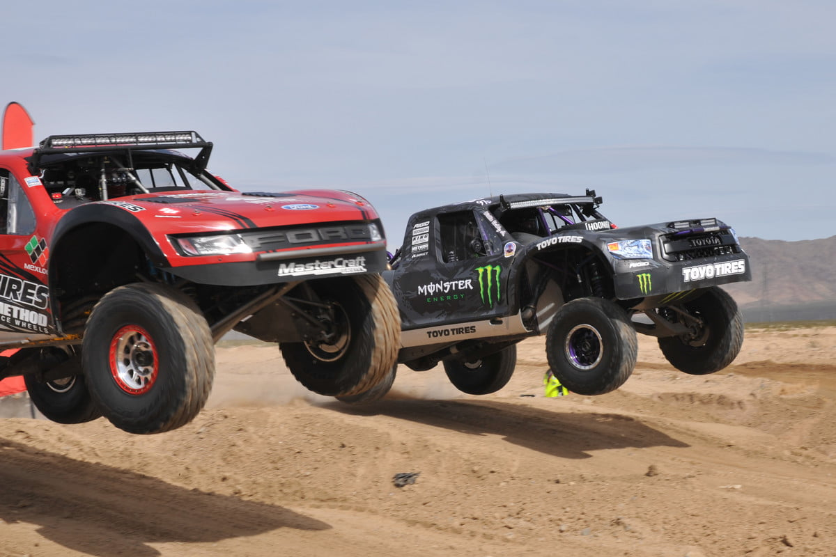 with trick trophy trucks the mint 400 race makes mad max look middle