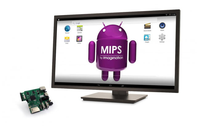 imagination takes piece pi creator ci  mips c screen android left rgb