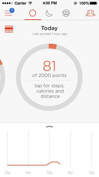 opinion fitness trackers can benefit healthy people too misfit flash app screenshot