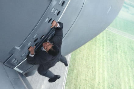 Mission Impossible  Rogue Cruise plane