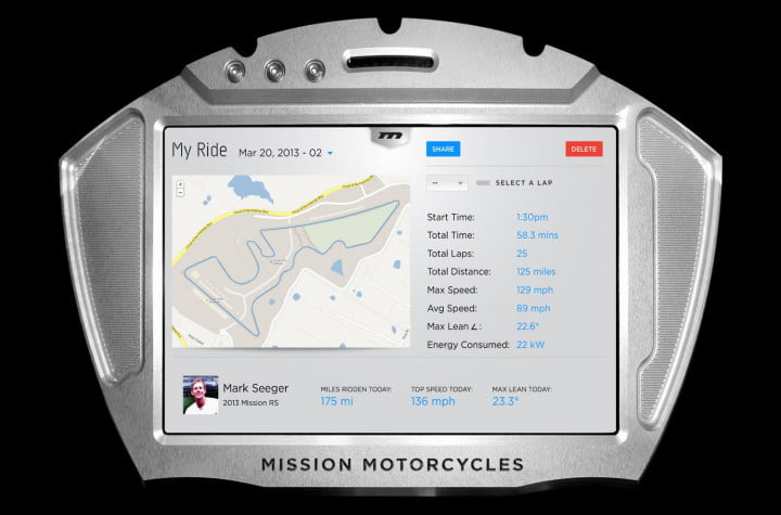 missions hot new  hp electric motorcycles one gear plus reverse mph and no shifting mission moto r ride tracker screen