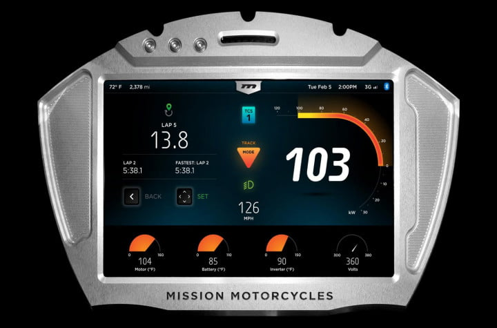 missions hot new  hp electric motorcycles one gear plus reverse mph and no shifting mission moto rs display