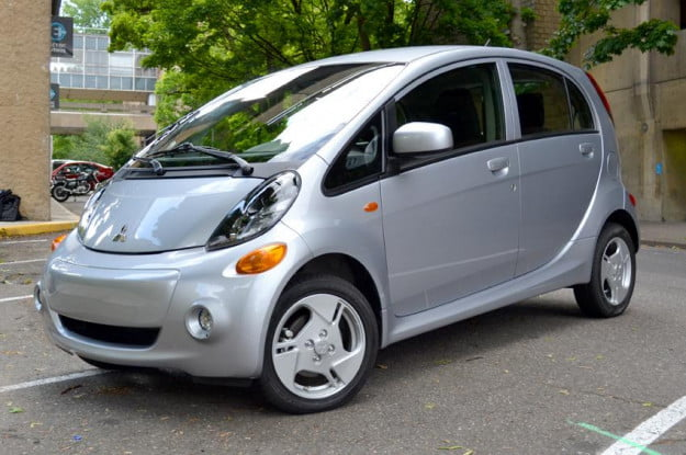 Mitsubishi i MiEV review exterior electric car ev