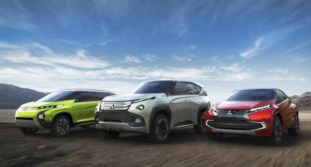 mitsubishi reveals three green concepts for the  tokyo motor show