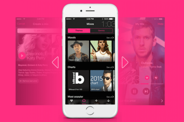 mixradio app ios android news