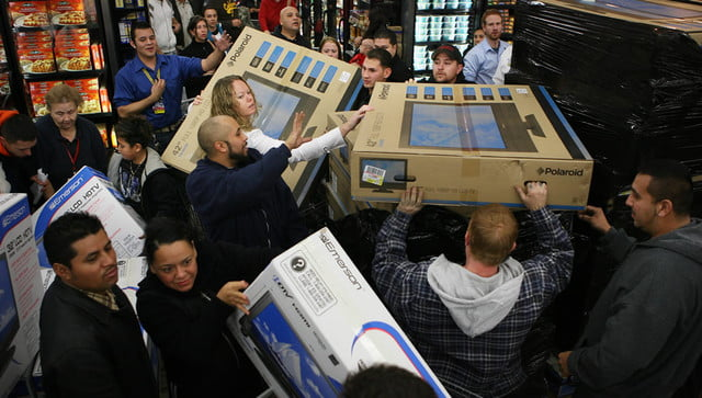 tvs tablets games consoles help walmart break black friday records blackfriday